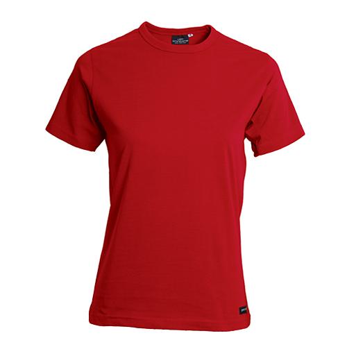 T-shirt röd bomull