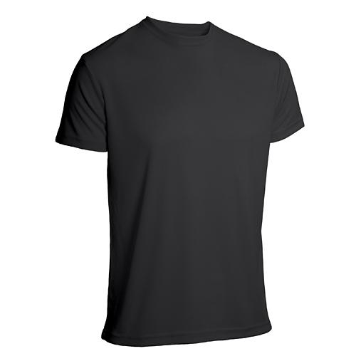 T-shirt funktionsmaterial herr svart