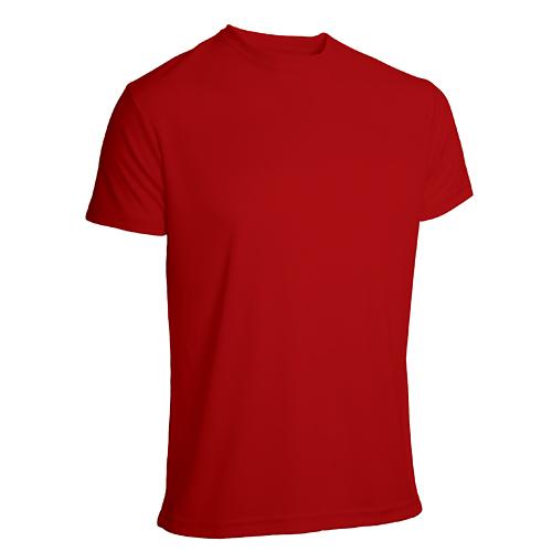 T-shirt funktionsmaterial herr röd