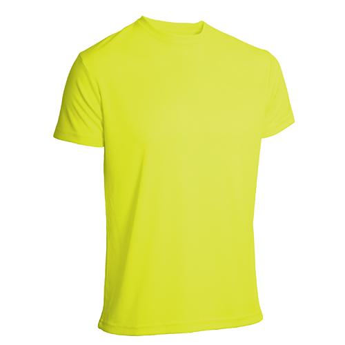T-shirt funktionsmaterial herr gul