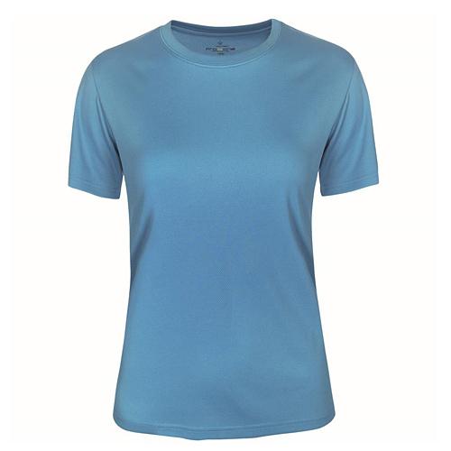 T-shirt funktionsmaterial dam turkos
