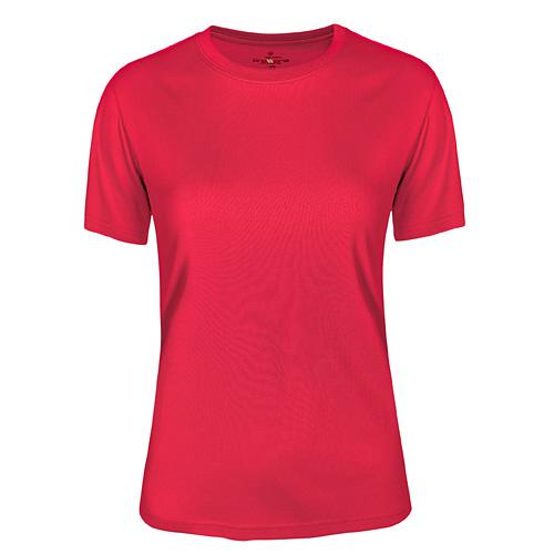 T-shirt funktionsmaterial dam rosa