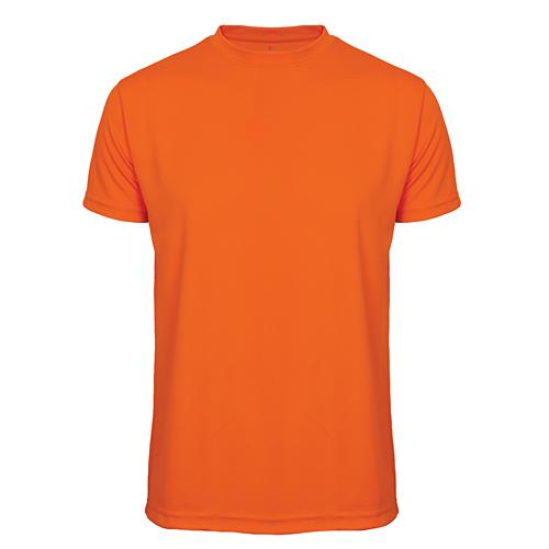 T-shirt funktionsmaterial herr orange