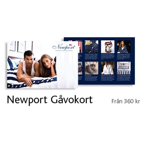 Gåvokortet Newports produkter