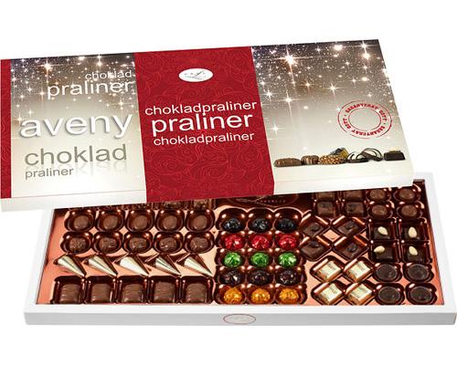 chokladaskar till jul