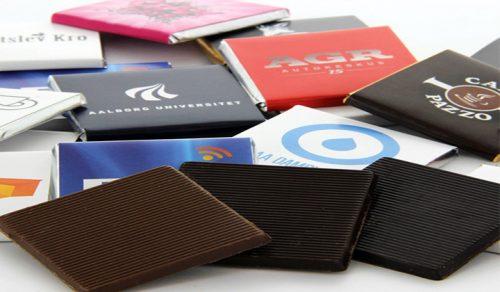 Choklad med tryck - Sprid ditt budskap