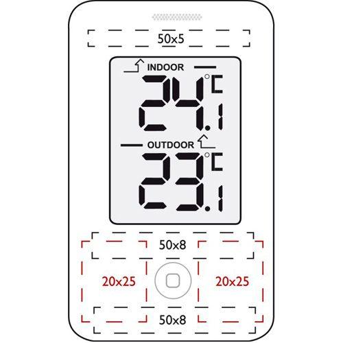 tryck på termometer